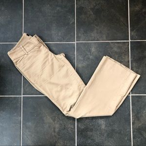Kaki slacks